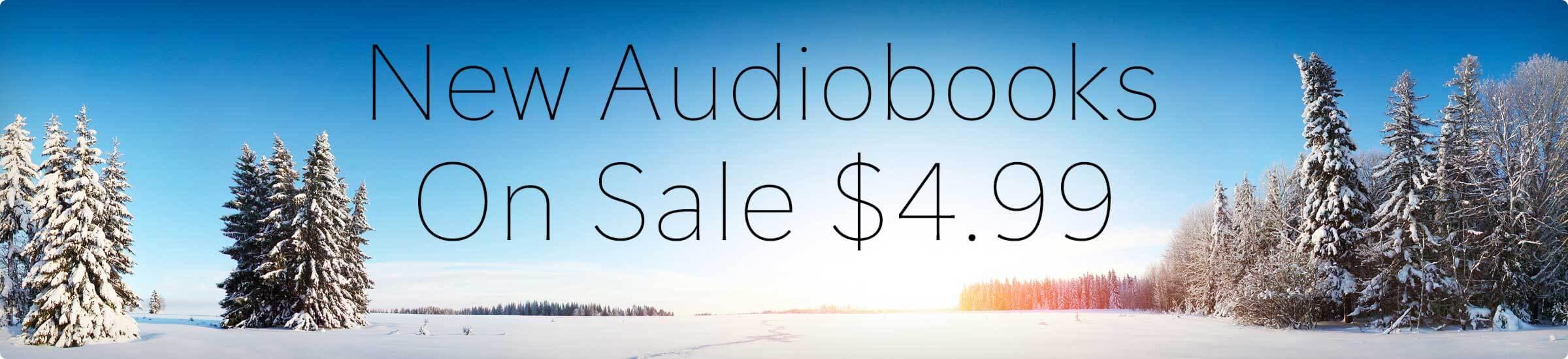 New Audiobooks $4.99