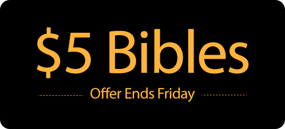 $5Audio Bibles